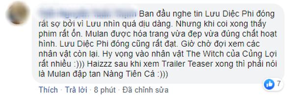 Netizen Trung lẫn Việt  đua nhau nổi da gà khi thấy Lưu Diệc Phi trong Mulan: Có hi vọng sau cú vả Ariel rồi! - Ảnh 14.