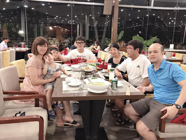 Xuân Trường đeo kính đen cool ngầu đi nghỉ mát cùng gia đình - Ảnh 3.