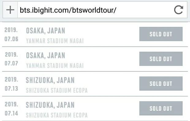 Rộ tin concert của BTS tại Nhật ế vé khi lộ khán đài trống huơ trống hoác: Thực hư thế nào? - Ảnh 4.