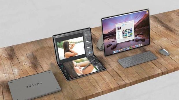 Apple đang phát triển iPad màn hình gập, hỗ trợ 5G và đó là tin rất tốt - Ảnh 1.