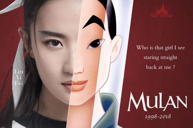 Nhìn Mulan Lưu Diệc Phi đánh võ, bỗng dưng Triệu Vy bị gọi hồn cùng một loạt tranh cãi - Ảnh 1.