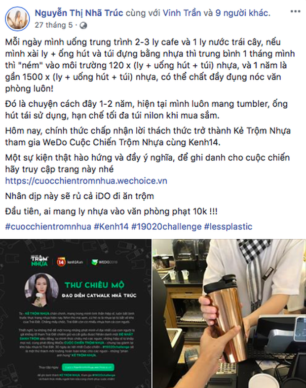"""Dàn KOLs và sao Việt là """"bàn tay vàng trong làng trộm nhựa"""" với bảng thành tích ấn tượng sau chuỗi thử thách 30 ngày, xuất sắc vậy rồi ai """"chơi lại""""? - Ảnh 32."""