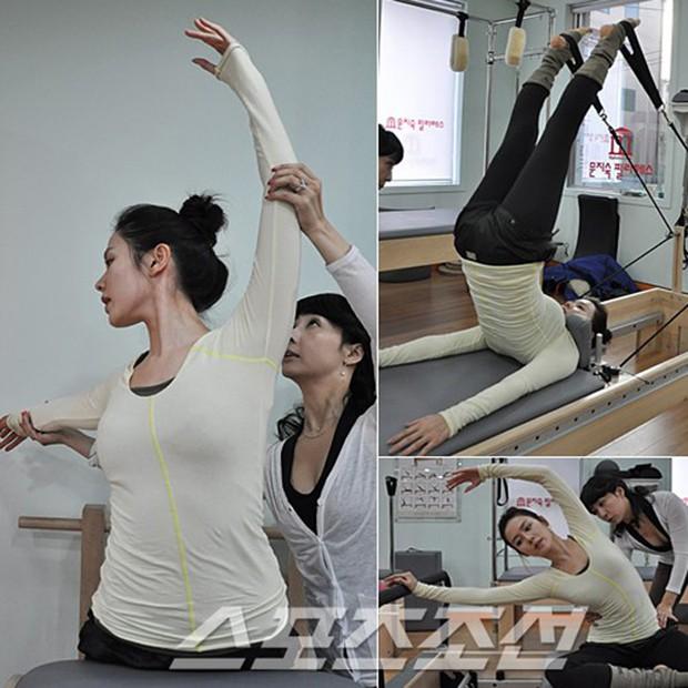 Đâu chỉ Jennie hay Rose (BLACKPINK), rất nhiều sao Hàn khác cũng chọn tập Pilates để giữ dáng - Ảnh 6.