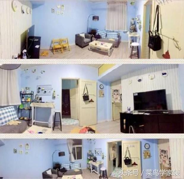 Thêm một nữ sinh hô biến căn phòng trọ 24m2 tồi tàn thành sang chảnh với số tiền chưa đến 10 triệu đồng - Ảnh 13.