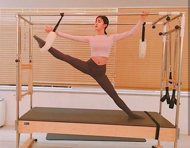 Đâu chỉ Jennie hay Rose (BLACKPINK), rất nhiều sao Hàn khác cũng chọn tập Pilates để giữ dáng - Ảnh 14.
