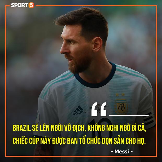 Sau cáo buộc LĐBĐ Nam Mỹ tham nhũng, Messi bị hàng loạt ngôi sao Brazil công kích - Ảnh 8.