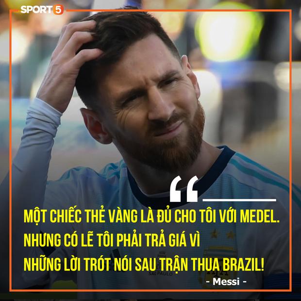 Sau cáo buộc LĐBĐ Nam Mỹ tham nhũng, Messi bị hàng loạt ngôi sao Brazil công kích - Ảnh 7.