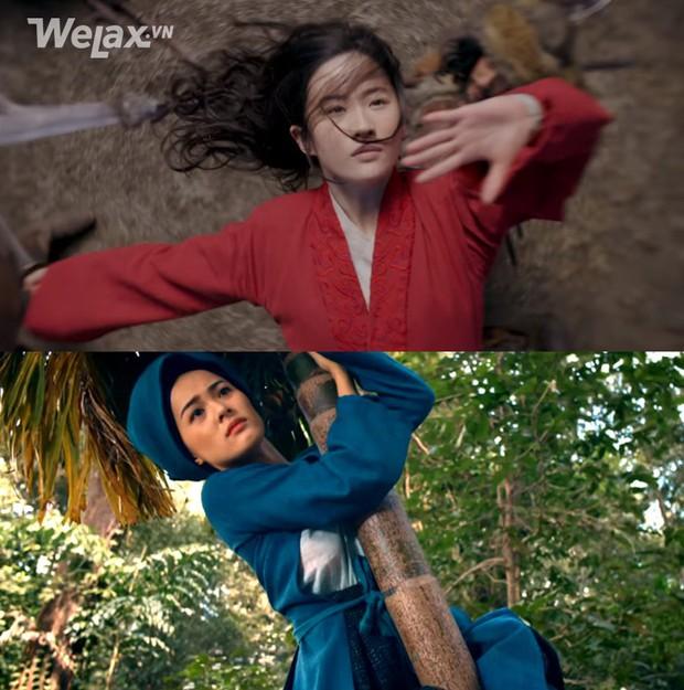 Nhìn lại biểu cảm của Mulan với Tấm ngã cây mới thấy: Mặt lạnh như tiền là có thật! - Ảnh 7.