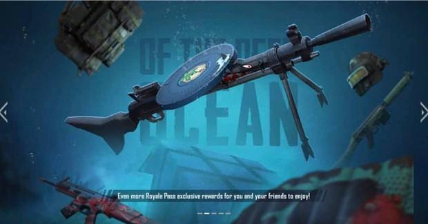 PUBG Mobile: Hé lộ phần thưởng Royale Pass mùa 8 gồm set skin chủ đề Đại dương xanh - Ảnh 4.