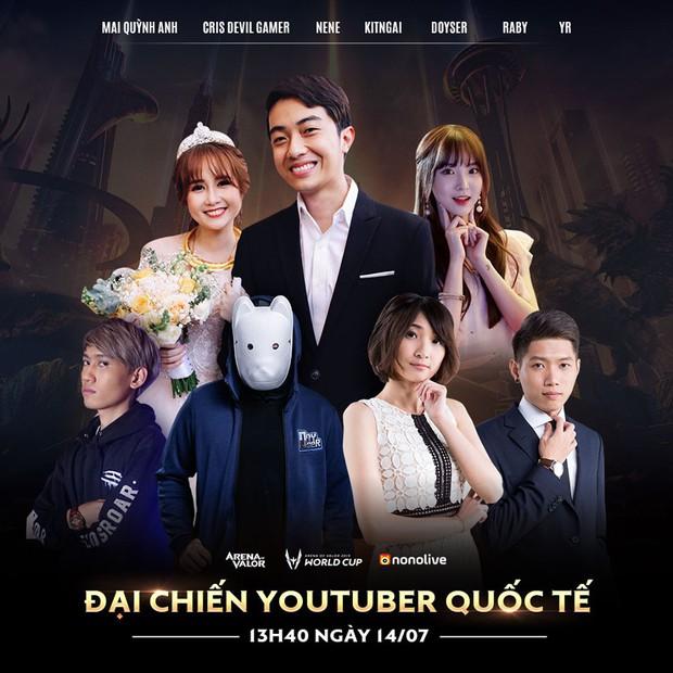Hot: Sau kết hôn Cris Phan - Mai Quỳnh Anh sắp đại chiến cùng Nene và dàn Youtuber quốc tế trong trận showmatch đỉnh cao - Ảnh 4.