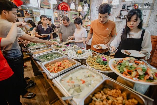 Quán chay tuỳ tâm độc nhất vô nhị ở Sài Gòn: ăn tuỳ bụng, trả tiền tuỳ… khả năng - Ảnh 1.