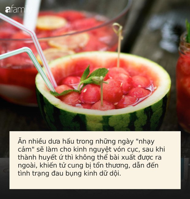 3 loại quả ngon đã miệng nhưng không nên ăn nhiều trong ngày đèn đỏ kẻo làm hại tử cung mà không biết - Ảnh 2.