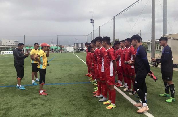 U15 Việt Nam tập buổi đầu tiên tại Nhật Bản, đội tuyển nữ đón tin vui từ các cầu thủ trụ cột - Ảnh 1.