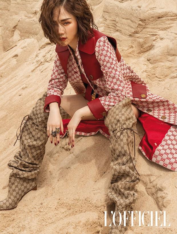 Nhìn Quỳnh Anh Shyn mặc bikini, đi boots bùng nhùng chạy lông nhông thể nào cũng nhớ về Tóc Tiên 1 năm trước - Ảnh 3.