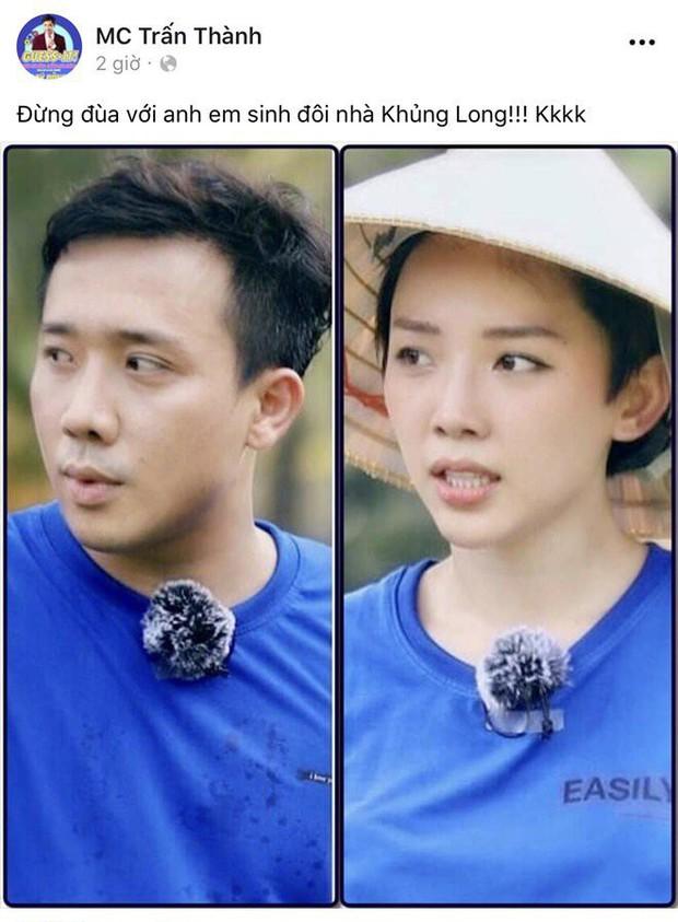 Nhận Tóc Tiên là em gái sinh đôi, Trấn Thành liền bị BB Trần phũ: Anh trông... gấp đôi thì có! - Ảnh 5.