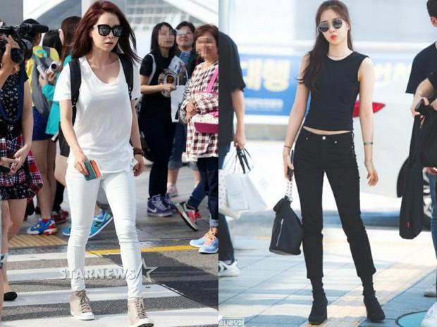 Các cặp mỹ nhân Hàn có cùng chiều cao nhưng tỷ lệ cơ thể trái ngược: Lee Hyori đọ với Lisa, nữ thần Eugene sốc nhất - Ảnh 1.