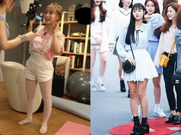 Các cặp mỹ nhân Hàn có cùng chiều cao nhưng tỷ lệ cơ thể trái ngược: Lee Hyori đọ với Lisa, nữ thần Eugene sốc nhất - Ảnh 12.