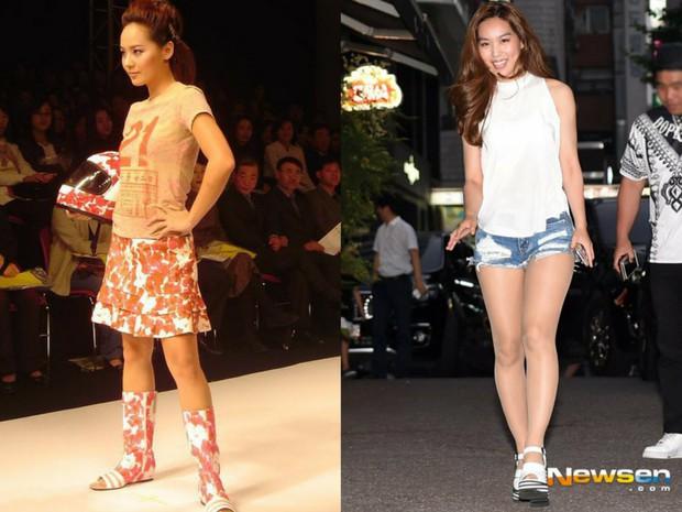 Các cặp mỹ nhân Hàn có cùng chiều cao nhưng tỷ lệ cơ thể trái ngược: Lee Hyori đọ với Lisa, nữ thần Eugene sốc nhất - Ảnh 14.