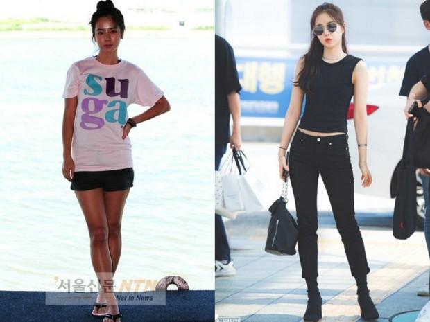 Các cặp mỹ nhân Hàn có cùng chiều cao nhưng tỷ lệ cơ thể trái ngược: Lee Hyori đọ với Lisa, nữ thần Eugene sốc nhất - Ảnh 2.