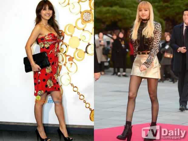 Các cặp mỹ nhân Hàn có cùng chiều cao nhưng tỷ lệ cơ thể trái ngược: Lee Hyori đọ với Lisa, nữ thần Eugene sốc nhất - Ảnh 4.