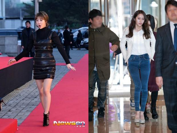 Các cặp mỹ nhân Hàn có cùng chiều cao nhưng tỷ lệ cơ thể trái ngược: Lee Hyori đọ với Lisa, nữ thần Eugene sốc nhất - Ảnh 6.