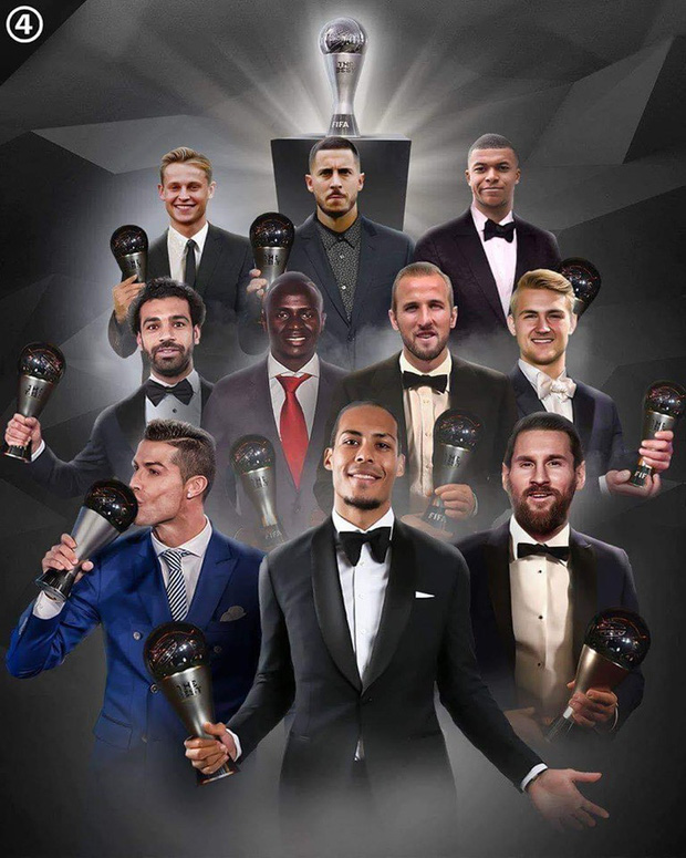 Công bố top 10 ứng viên tranh giải nam cầu thủ hay nhất thế giới: Màn tấu hài cực mạnh đến từ FIFA - Ảnh 1.