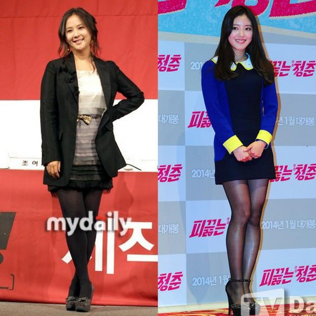 Các cặp mỹ nhân Hàn có cùng chiều cao nhưng tỷ lệ cơ thể trái ngược: Lee Hyori đọ với Lisa, nữ thần Eugene sốc nhất - Ảnh 7.