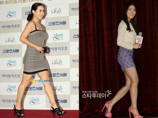 Các cặp mỹ nhân Hàn có cùng chiều cao nhưng tỷ lệ cơ thể trái ngược: Lee Hyori đọ với Lisa, nữ thần Eugene sốc nhất - Ảnh 8.