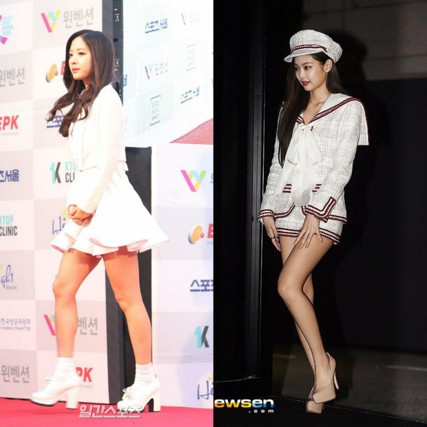 Các cặp mỹ nhân Hàn có cùng chiều cao nhưng tỷ lệ cơ thể trái ngược: Lee Hyori đọ với Lisa, nữ thần Eugene sốc nhất - Ảnh 9.