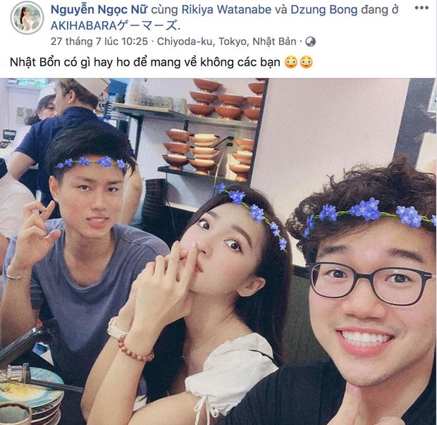 Biến căng: Phan Văn Đức ở Việt Nam điều trị chấn thương, Ngọc Nữ lại vô tư tựa vai ai ở Nhật Bản thế này - Ảnh 3.