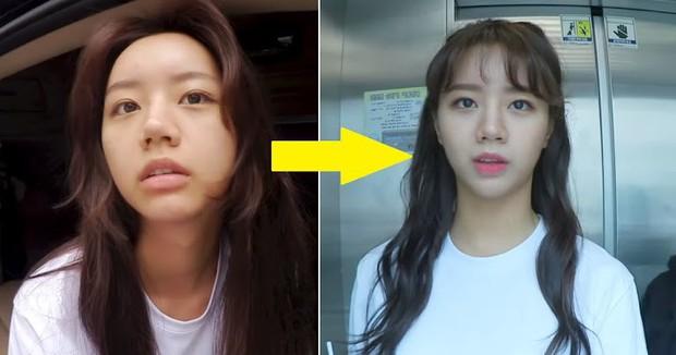Cứ phải nhìn mặt mộc của Hyeri mới biết makeup có sức mạnh khủng khiếp thế nào - Ảnh 4.