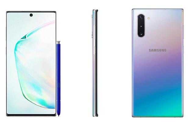 Đây là toàn bộ các màu sắc của Galaxy Note 10 sẽ được Samsung trình làng vào ngày 7/8 - Ảnh 1.