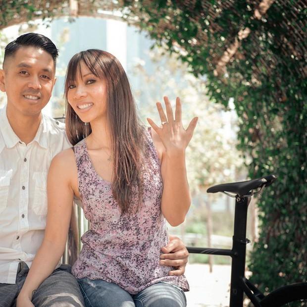Bạn trai rủ đạp xe vòng vòng hơn 25 cây số, cô gái bực dọc nhưng chẳng ngờ ẩn giấu sau đó là lời cầu hôn độc nhất vô nhị - Ảnh 6.
