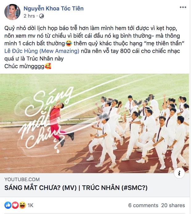 Làm MV đam mỹ trá hình quá khéo, Noo Phước Thịnh, Tóc Tiên và dân mạng khiến Trúc Nhân sáng mắt vì được khen hết lời - Ảnh 3.