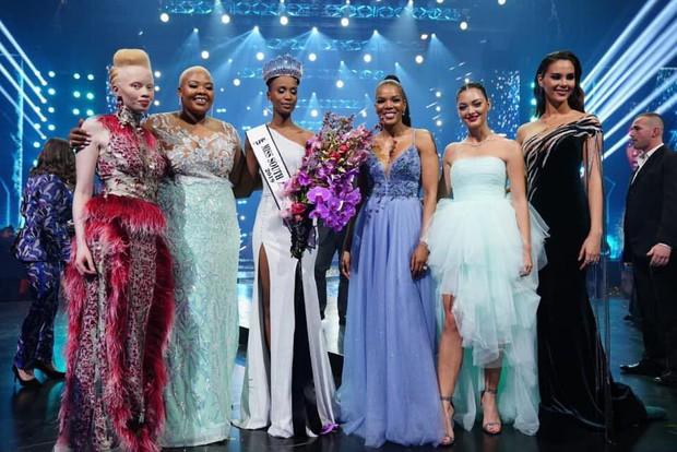 Nhan sắc ấn tượng của mỹ nhân vừa đăng quang Hoa hậu Hoàn vũ Nam Phi là đối thủ trực diện của Hoàng Thùy - Ảnh 2.