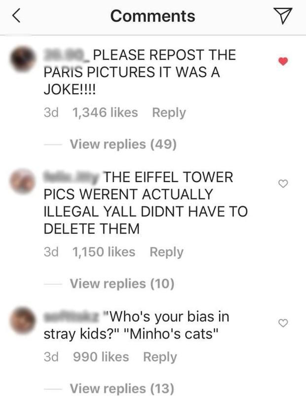 Boygroup nhà JYP đăng hình check-in với tháp Eiffel mà không biết đã vi phạm luật quốc tế, phải đến khi fan comment mới xoá vội ảnh? - Ảnh 5.