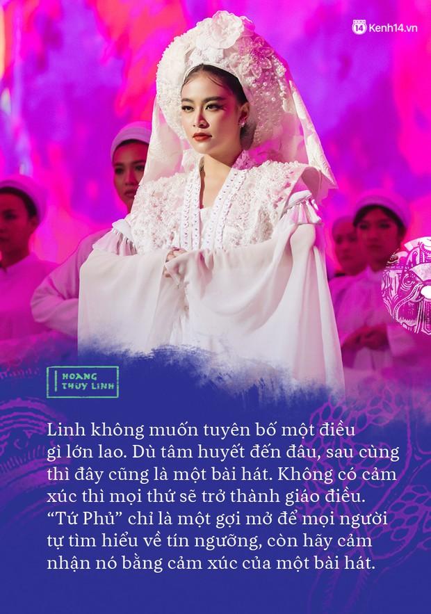 """Hoàng Thuỳ Linh: """"Người ta sẽ nói tôi ngông cuồng khi làm Tứ Phủ - Ảnh 3."""