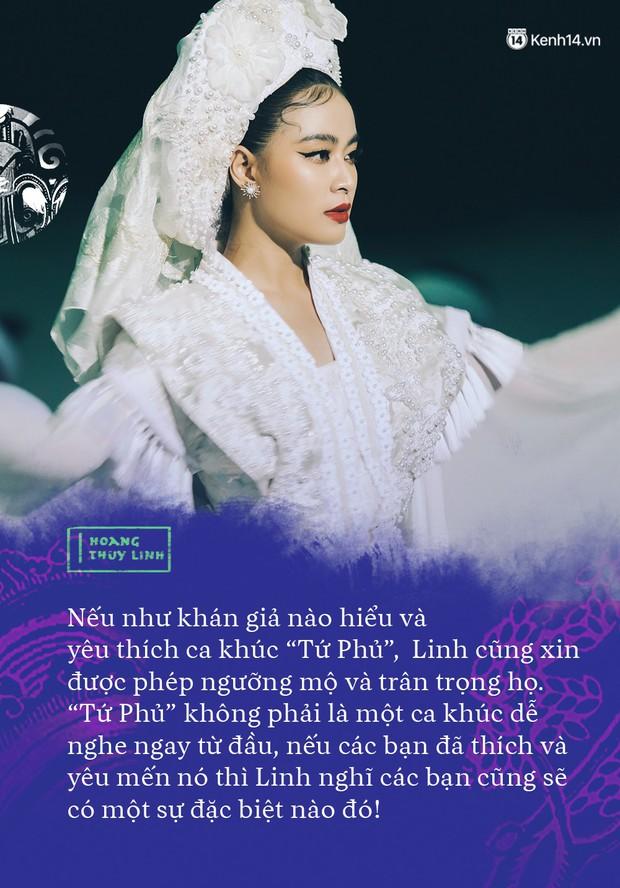 """Hoàng Thuỳ Linh: """"Người ta sẽ nói tôi ngông cuồng khi làm Tứ Phủ - Ảnh 5."""