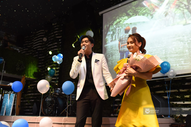 Diện vest trắng bảnh bao, Quốc Trường song ca cực ngọt cùng Bảo Thanh trong buổi offline đầu tiên tại Hà Nội - Ảnh 5.
