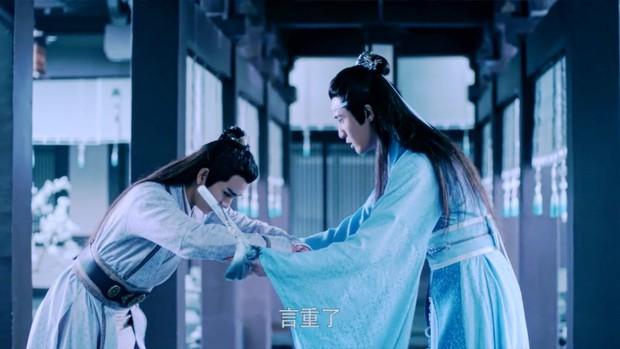 3 khoảnh khắc đam mỹ trong phim tình cảm huynh đệ Trần Tình Lệnh: Ngụy Anh và Lam Trạm có phải là tình nhất? - Ảnh 2.