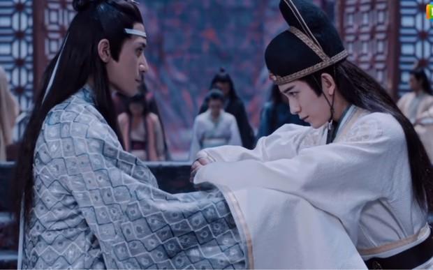 3 khoảnh khắc đam mỹ trong phim tình cảm huynh đệ Trần Tình Lệnh: Ngụy Anh và Lam Trạm có phải là tình nhất? - Ảnh 3.