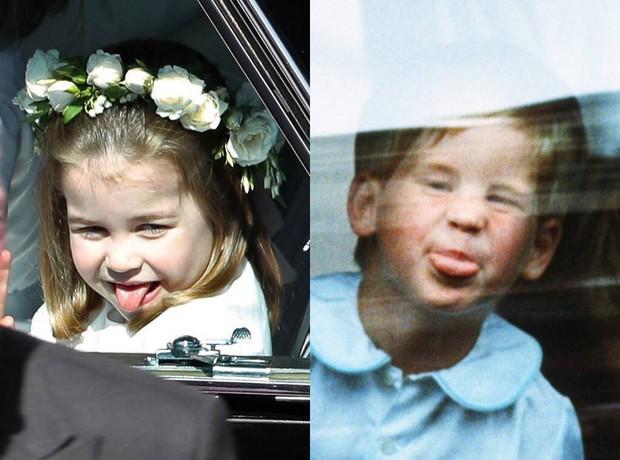 Công chúa Charlotte lè lưỡi trêu ngươi đám đông, cách Kate Middleton xử trí khiến nhiều người thán phục - Ảnh 2.