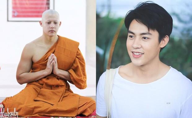 Dàn nam thần Thái siêu hot xuống tóc đi tu báo hiếu cha mẹ: Thay đổi ngoạn mục, gây sốt vì ngoại hình tự nhiên - Ảnh 20.