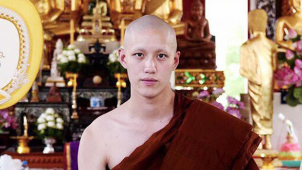Dàn nam thần Thái siêu hot xuống tóc đi tu báo hiếu cha mẹ: Thay đổi ngoạn mục, gây sốt vì ngoại hình tự nhiên - Ảnh 31.