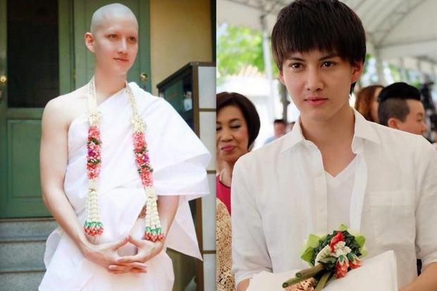 Dàn nam thần Thái siêu hot xuống tóc đi tu báo hiếu cha mẹ: Thay đổi ngoạn mục, gây sốt vì ngoại hình tự nhiên - Ảnh 41.