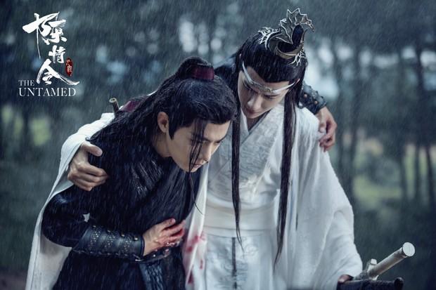 3 khoảnh khắc đam mỹ trong phim tình cảm huynh đệ Trần Tình Lệnh: Ngụy Anh và Lam Trạm có phải là tình nhất? - Ảnh 14.