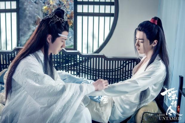 3 khoảnh khắc đam mỹ trong phim tình cảm huynh đệ Trần Tình Lệnh: Ngụy Anh và Lam Trạm có phải là tình nhất? - Ảnh 15.