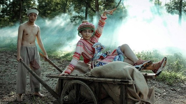 3 lần Hoàng Thùy Linh mang trang phục đậm văn hóa Việt vào MV ca nhạc: Đẹp mộng mị khiến người xem mãn nhãn - Ảnh 7.