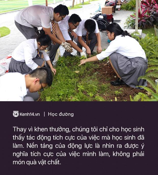 Ở Hà Nội có một ngôi trường đã nhiều năm không thả bóng bay ngày khai giảng, bảo vệ môi trường là phương châm giáo dục chính - Ảnh 7.
