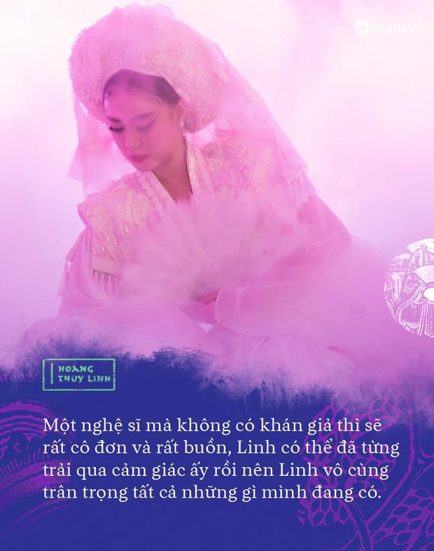 """Hoàng Thuỳ Linh: """"Người ta sẽ nói tôi ngông cuồng khi làm Tứ Phủ - Ảnh 6."""